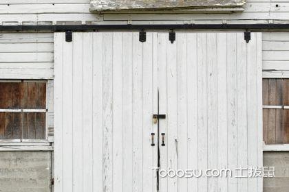 谷仓门轨道安装,让家更舒适