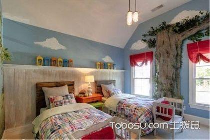 双人儿童房间布置,儿童房的设置布局