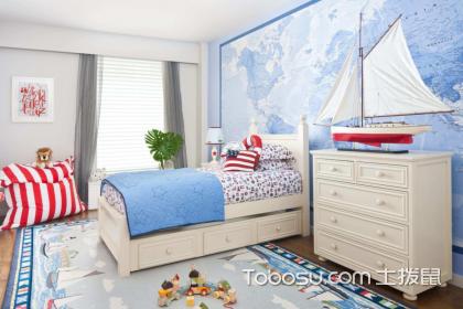 藍色兒童房效果圖,這樣裝修讓孩子的童年充滿童趣!