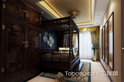 中式風格臥室軟裝搭配,中式風格臥室裝修
