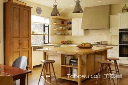 小戶型開放式廚房裝修案例,小戶型廚房如何裝修