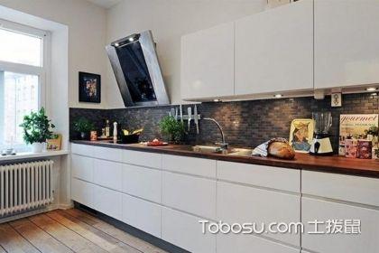 厨房橱柜颜色图片,厨房橱柜颜色如何挑选