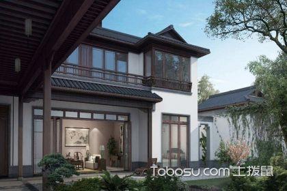 中式小庭院设计实景图,尽显优雅与大气