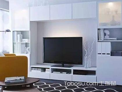 2018宜家电视背景墙效果图,用最简单的设计营造时尚美感