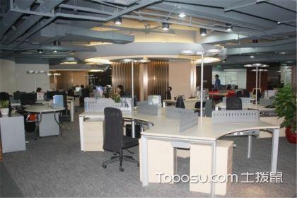 办公室软装修效果图,办公室装修图分析