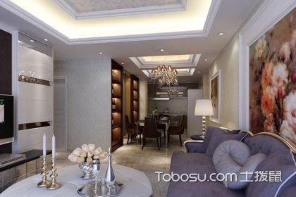 105平米欧式风格设计图,低调奢华的装修风格