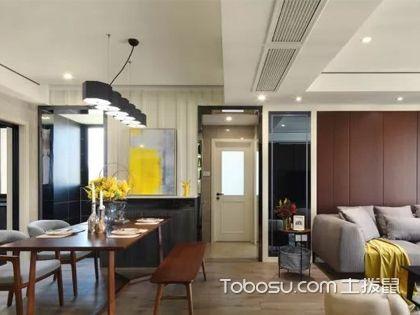 現代港式風格設計說明,獨特的金屬色讓人眼前一亮