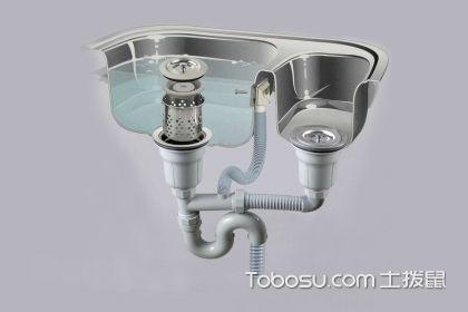 洗碗池管道怎么安装,洗碗池的上下水管道如何安装