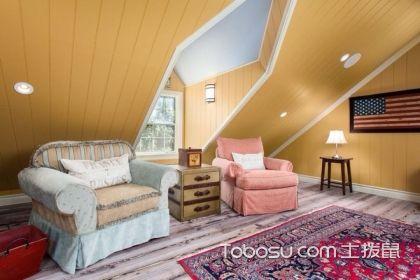 这样的阁楼装修设计方案,可以让你收获一个精致的阁楼