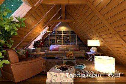 低矮阁楼装修效果图—打造更完美的低矮阁楼