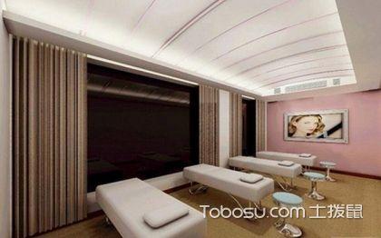 简洁时尚美容院装修,打造舒适美丽空间