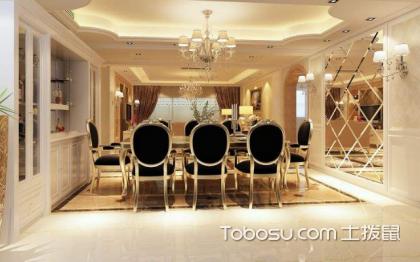 现代简欧餐厅效果图,享受最美的就餐时光