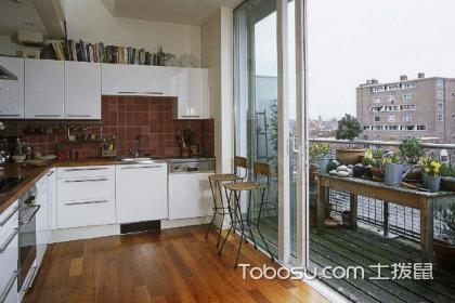 厨房生活阳台怎样使用?厨房阳台正确装修方法