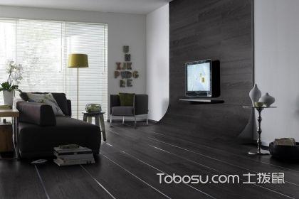 黑色地板装修效果图,黑色地板搭配技巧