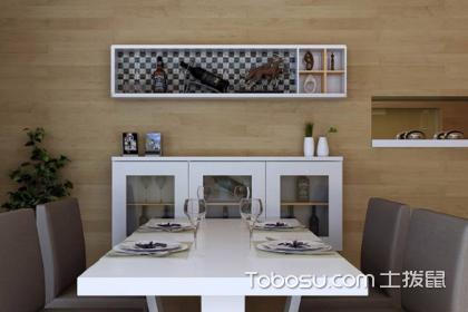 家庭客厅餐边柜搭配方法,家庭客厅餐边柜如何选择