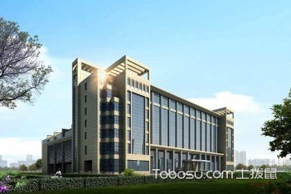 从新中式办公楼装修效果图,看装修特点