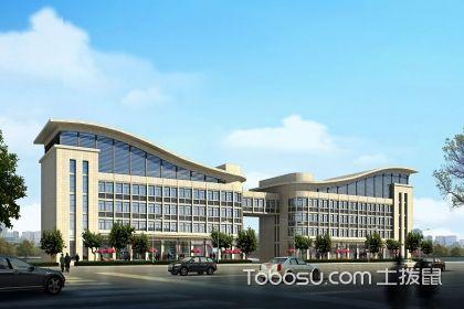 从贵州办公楼装修设计图,看办公楼装修门道
