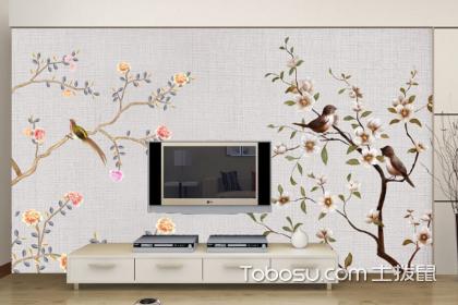 电视背景墙彩绘效果图,彩绘电视背景墙设计方法