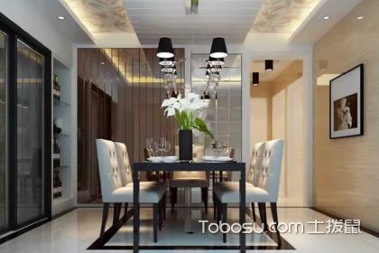 现代简约居家餐厅装饰效果图,简单居家餐厅如何装修