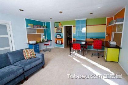 儿童卧室背景墙装饰设计,儿童房装修设计