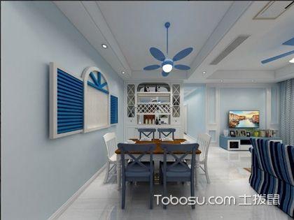 地中海风格设计说明,明媚的蓝白格调让人移不开眼