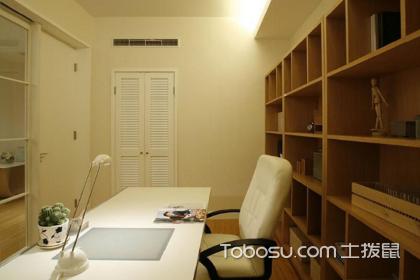 小书房设计装修效果图,小面积书房如何装修