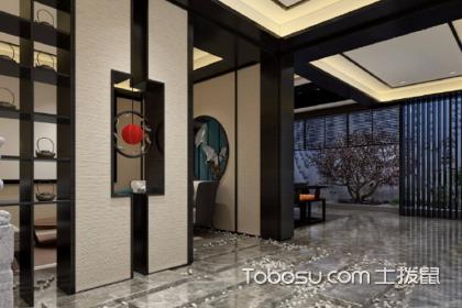 新中式玄关装修设计方法,设计玄关需要注意的事项
