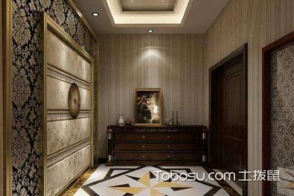 走廊型玄关装修效果图,玄关正确装修设计手法