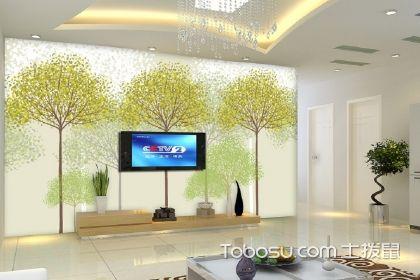客厅要想装得好,墙纸客厅背景墙至关重要