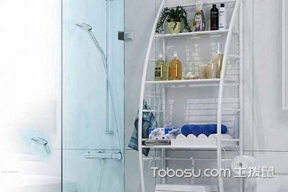 高端的置物架都是这样的!设计感超强的卫生间用品置物架图片