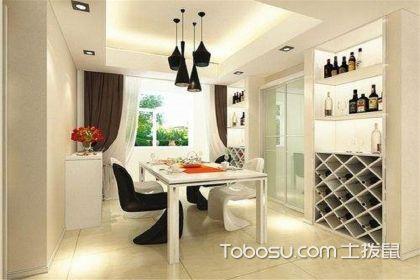 厨房门两侧酒柜,优雅生活的不二之选