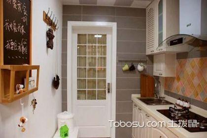 小户型厨房装修技巧,好看的小户型厨房应该这样装