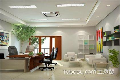 现代简约办公室效果图,简约设计更加经典