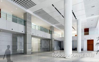 辦公樓大廳裝修效果圖大全,給你不一樣的視覺體驗