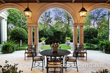入室花园装修效果图,花园装修设计方法是什么