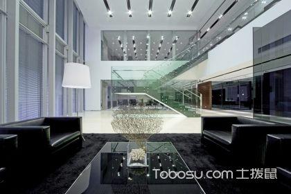 复式办公楼装修效果图,这波阳气的办公室装修了解一下!