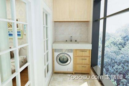 洗衣机放阳台排水走雨水管可以吗,洗衣机放阳台上如何排水