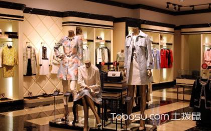 歐式風格女裝服裝店裝修效果圖,展現時尚高端設計