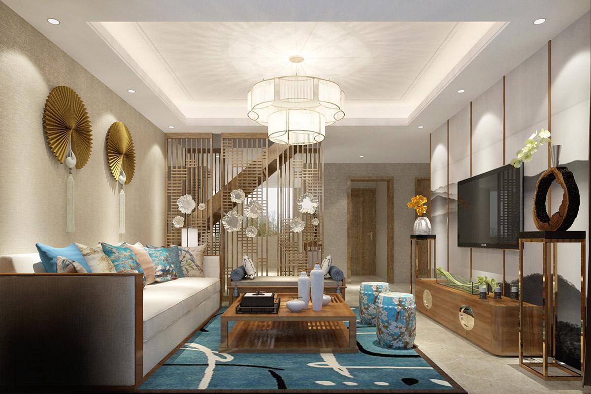 新中式u乐娱乐平台U乐国际设计特点介绍,给你别样美的家居生活