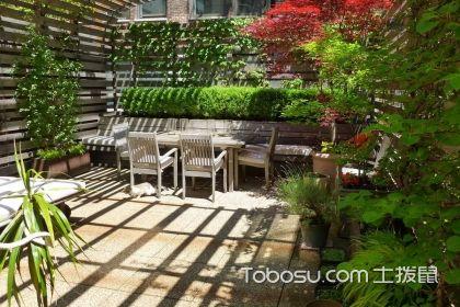 小花园设计效果图案例,花园设计就这么简单