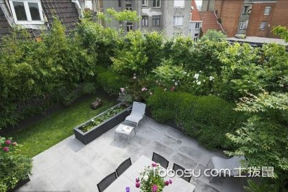 顶楼花园设计实景图,顶楼花园的装修案例分析