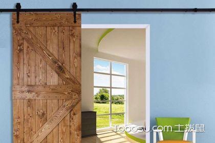 谷仓门用作卫生间的缺点分析,家装选对门很重要