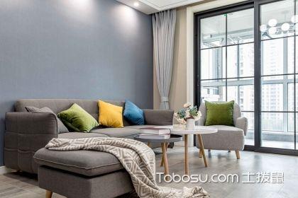 两居室现代装修风格效果图案例,简约雅致的设计才是家