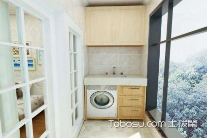 阳台雨水管洗衣机,您家是否可以安装?