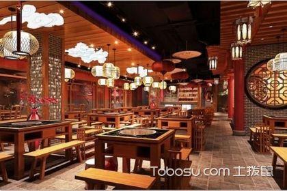 老火锅餐厅装修效果图,色香味俱全吸引力十足