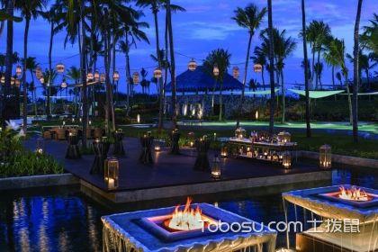 酒店露天餐厅装修效果图赏析,酒店餐厅装修的好选择