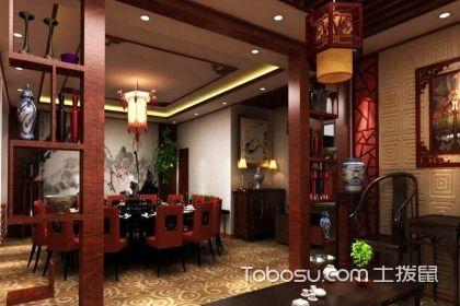 中式餐厅装修设计要做好,把握中式风格重点不可少