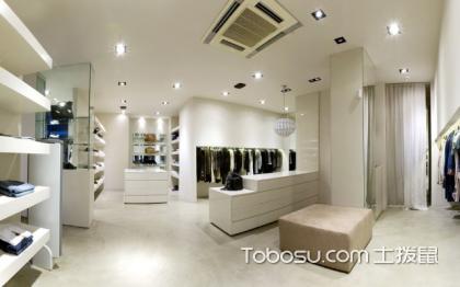 最简单的服装店装修图,小型服装店装修案例