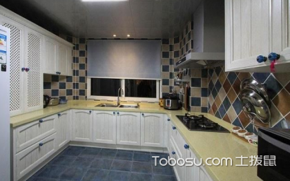 图解u型厨房的优势,让你不再浪费空间