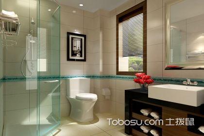 卫生间太小怎么设计?小户型卫生间干湿分离效果图赏析